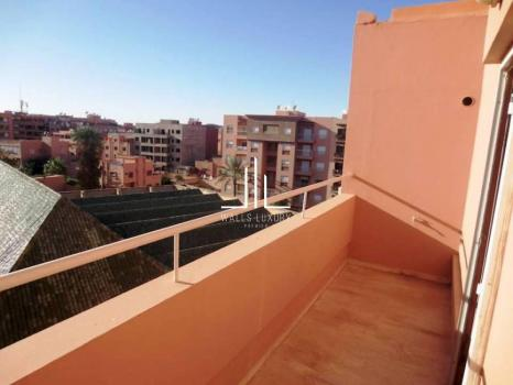Location Appartement vide a  Guéliz Marrakech