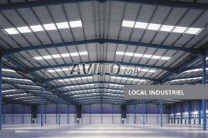 local industriel ou stock 2500 m2 AïnSebaâ