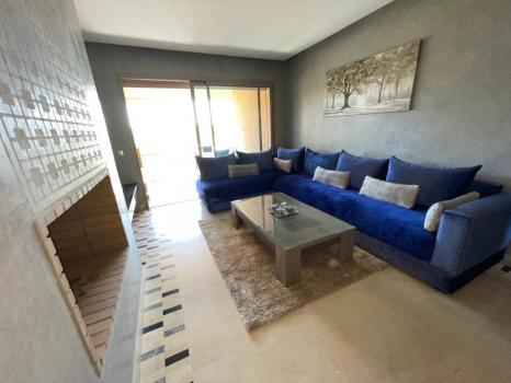 Marrakech Golf City: Appartement T3 meublé à la location long terme